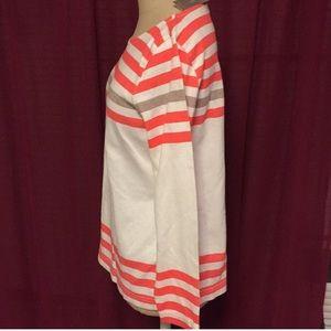 J. Crew Sweaters - J Crew Sailor Tee Sweater 3/4 sleeve stripes S